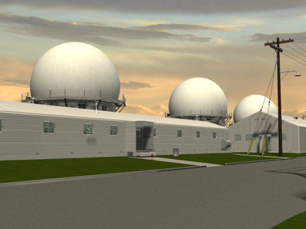 Base Supply and Radar Domes